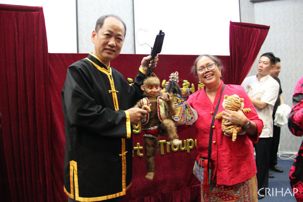 Cultural exchange activity of Fujian puppet show held in Indonesia