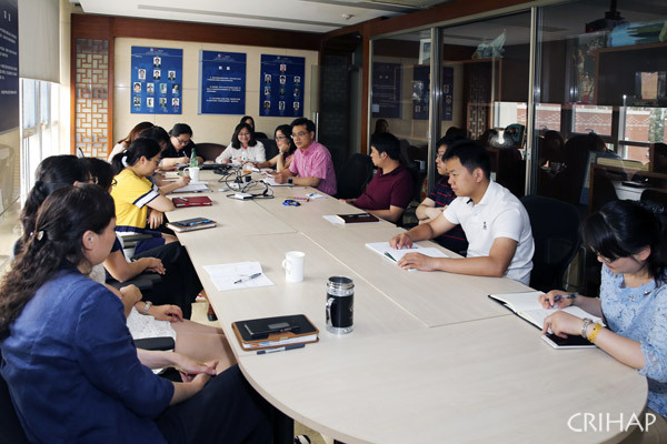 CRIHAP holds review meeting on workshops in Suzhou and New Zealand