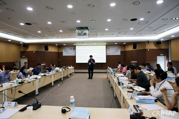 CRIHAP's Workshop on Strengthening National Capacities for Effective Implementation of the 2003 Convention in Republic of Korea held in Korea