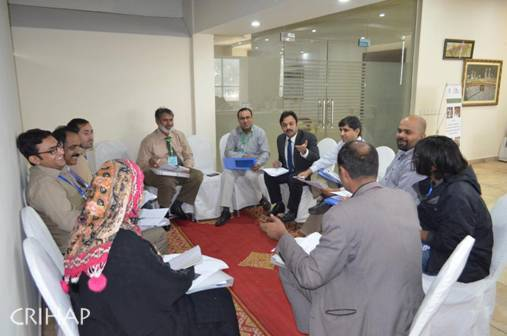 CRIHAP hold 2nd ICH safeguarding workshop in Pakistan