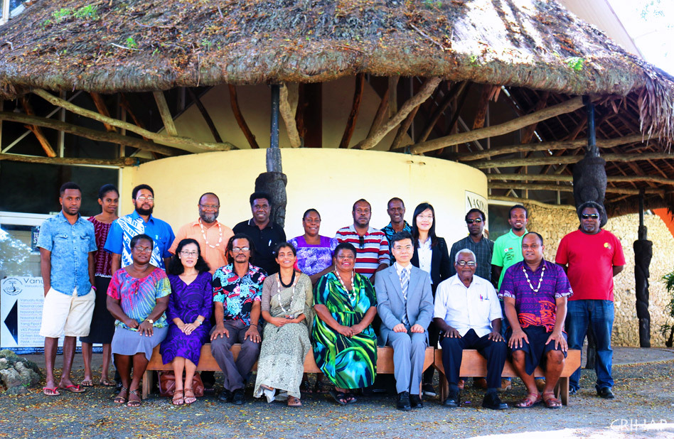 CRIHAP holds capacity building workshop on intangible cultural heritage in Vanuatu