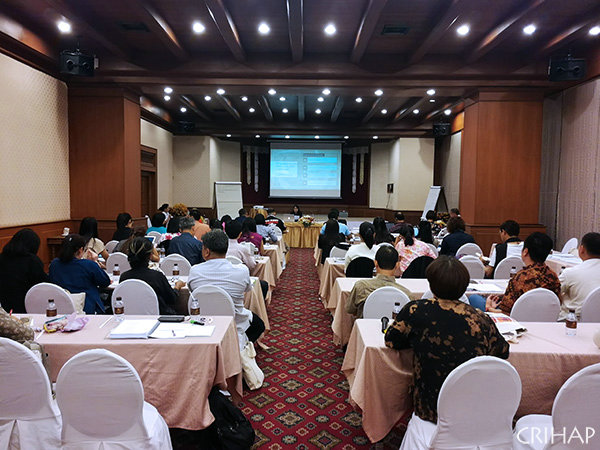 CRIHAP holds training of trainers on inventorying intangible cultural heritage in Thailand