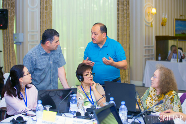 CRIHAP holds the second TOT workshop for the Intangible Cultural Heritage Facilitators in Kazakhstan