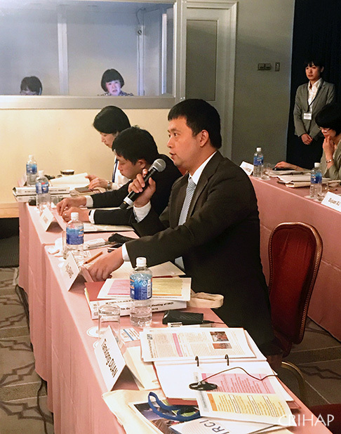 Seventh Governing Board meeting of IRCI held in Osaka