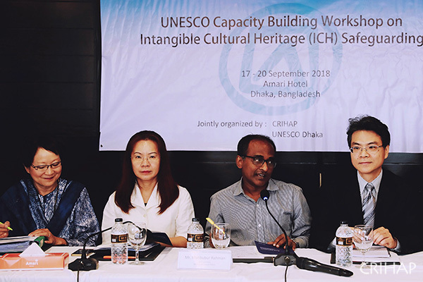 CRIHAP holds UNESCO workshop on ICH safeguarding in Bangladesh