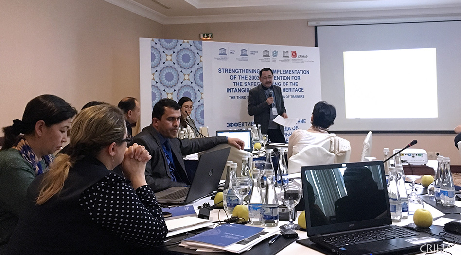 The Third Training of Trainers Workshop for Central Asia held in Uzbekistan