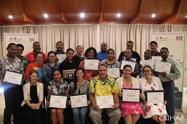 Workshop on ICH safeguarding plan and IARs development held in Fiji