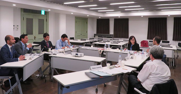 A Working Group Session for IRCI Study of Emergency Protection of ICH in Conflict-Affected Countries in Asia was held in Tokyo, Japan